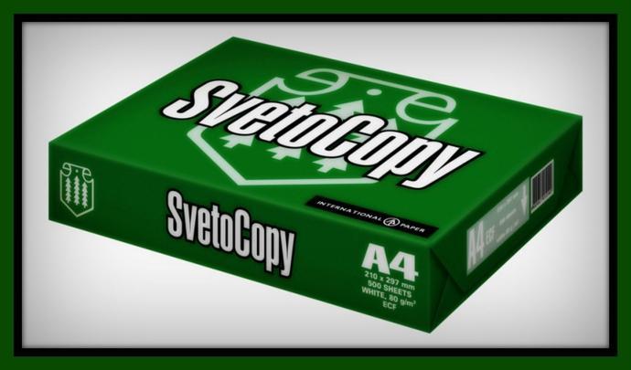 Купить бумагу SvetoСopy Светокопи А4, А3 для принтера